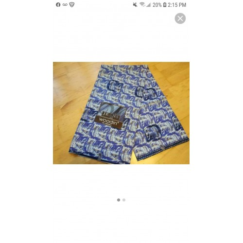 Authentic Woodin fabric